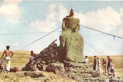 From Thor Heyerdahl's Aku-Aku