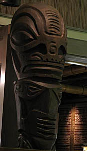 Tiki at Emeryville Trader Vic's