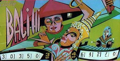 Bali Hi Pinball Machine