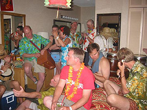 Room 135 Party, Tiki Oasis 2004
