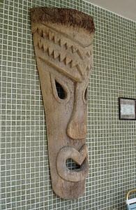 Stolen Tiki from Hawaiian Gardens