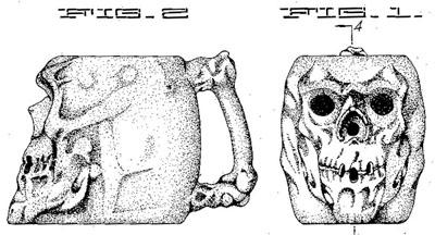 Trader Vic's Skull Mug