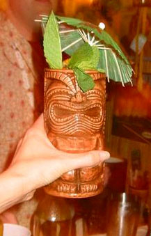 A tasty & delicious tropical drink, courtesy of Martiki