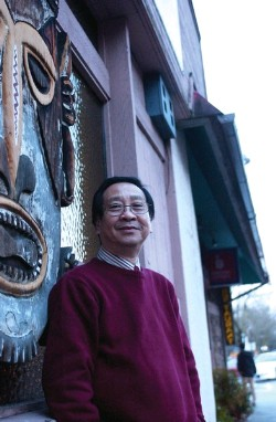 Jimmy Chan, Jasmine Tree bartender photo from the PSU Daily Vanguard