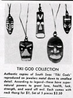 Tiki God Collection, from the collection of the jab