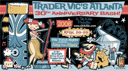 30th Anniversary of Atlanta Trader Vic's