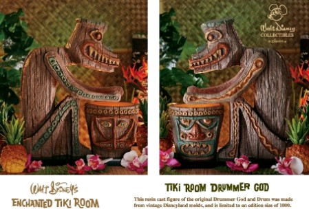 Disney's Enchanted Tiki Room Drummer God