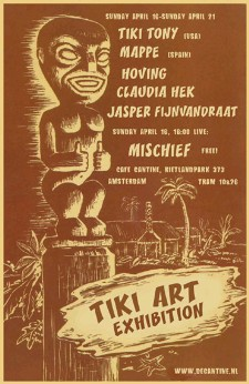 Netherlands Tiki Art Exhibition