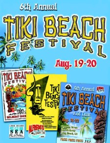 6th Annual Tiki Beach Festival in Long Beach