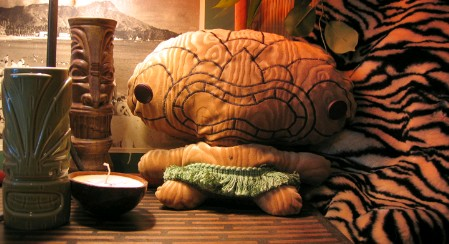 Cuddly Rigor Mortis Plush Tiki Doll