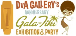 DvA Gallery's Anniversary Tiki Party