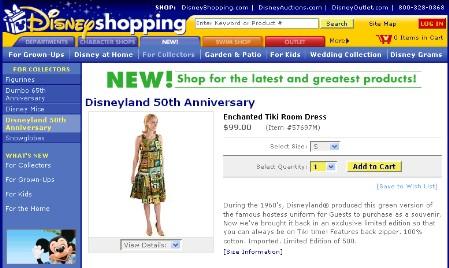 Enchanted Tiki Room Dress on DisneyShopping.com