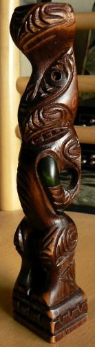 Maori Souvenir Tiki by Ruihana