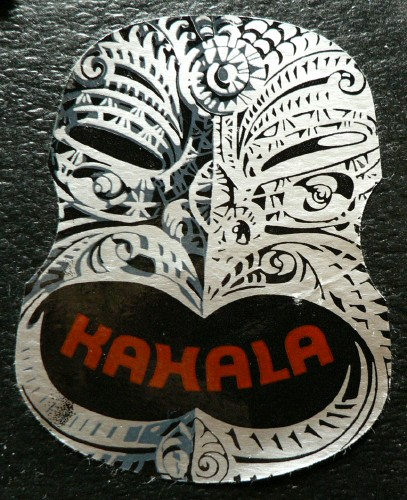 Sticker from Kahala in Barcelona