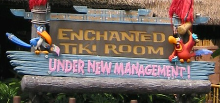 The Enchanted Tiki Room Under New Management at Walt Disney World, photo by Humuhumu