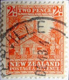 1930s New Zealand stamp