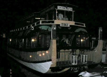 Tiki Boat at Balboa