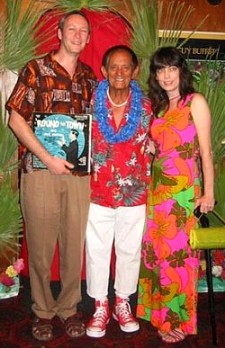 Ernie Menehune with Mr. & Mrs. cheeky half