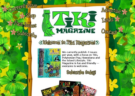 New Tiki Magazine website