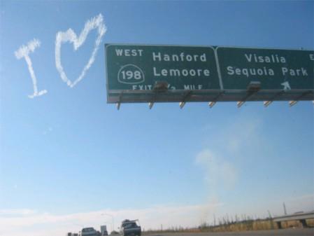 I ♥ Hanford Lemoore