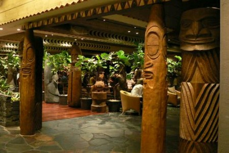 'Ohana restaurant at the Polynesian Resort