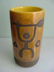 Tapa Punch Mug from Hilton Hawaiian Village, from the collection of Shani Thomson