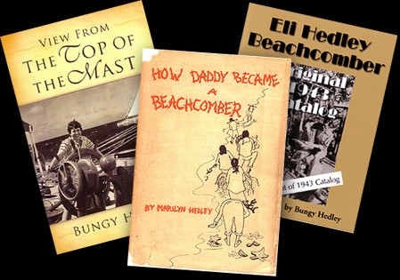 Three books from the beachcombing Hedley family