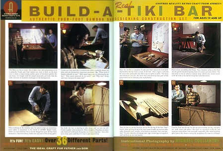 Build a Real Tiki Bar, from Atomic Magazine Vol. 1, No. 3