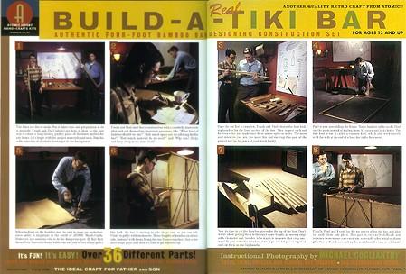 Build a Real Tiki Bar, from Atomic Magazine Vol. 1, No. 3