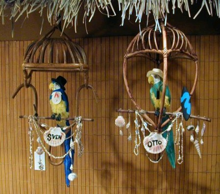 Homemade Enchanted Tiki Room Birds, by ZuluMagoo