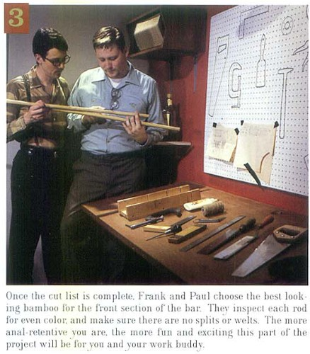 How to Build a Tiki Bar, Step 3, from Atomic Magazine Vol. 1, No. 3