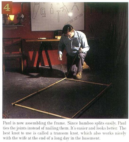 How to Build a Tiki Bar, Step 4, from Atomic Magazine Vol. 1, No. 3
