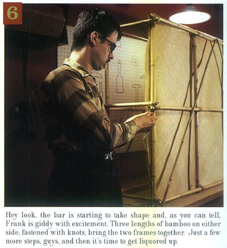 How to Build a Tiki Bar, Step 6, from Atomic Magazine Vol. 1, No. 3