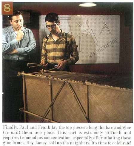 How to Build a Tiki Bar, Step 8, from Atomic Magazine Vol. 1, No. 3