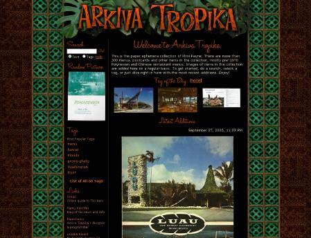 Mimi Payne's Arkiva Tropika