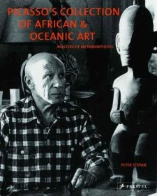 Picasso with his Marquesan tiki