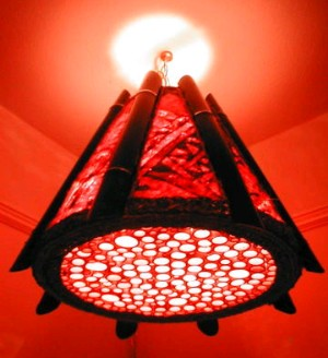 Volcano lamp by Kahaka