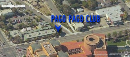 Likely location of Pago Pago Club