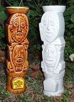 Original sculpt of the Shag Enchanted Tiki Room mug, by Squid