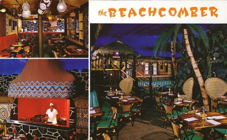 Postcard from the Beachcomber in Winnipeg, from Arkiva Tropika