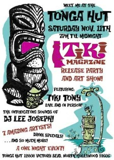 Tiki Magazine at the Tonga Hut