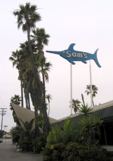 Sam's Seafood, on PCH in Orange County