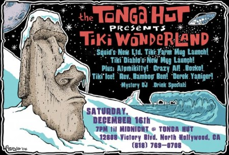 Tiki Wonderland at Tonga Hut