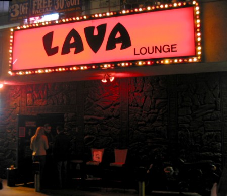 Lava Lounge in Hollywood, CA
