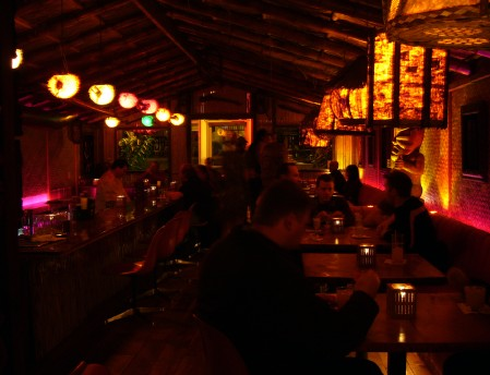 Thatch, Portland's new tiki bar, photo by Heather Gregg