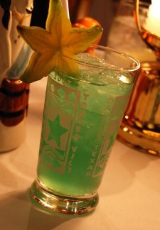 Dallas Blue Star cocktail, photo by Kenike