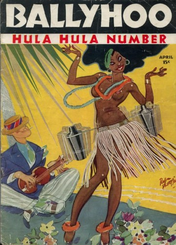 April 1935 issue of Ballyhoo