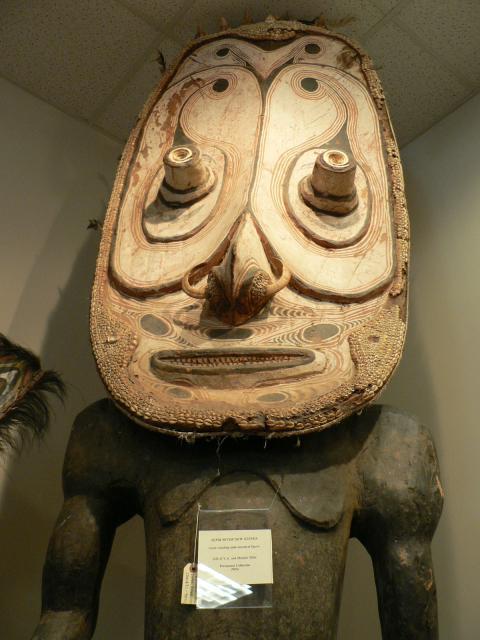 Papua New Guinea tiki at Xanadu Gallery
