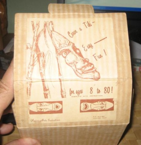 Carve a Tiki Kit, from the collection of 1961surf
