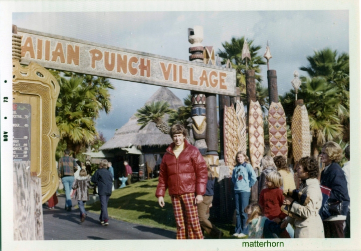 Hawaiian Punch Village at SeaWorld, from the collection of matterhorn1959